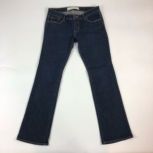 Abercrombie & Fitch A&F Boot Cut Blue Jeans